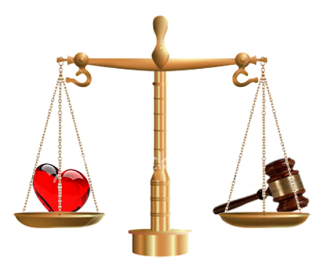 Justice-love-scales
